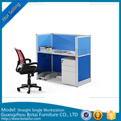 60mm Straight Workstation Partition