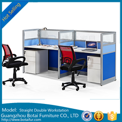 45mm Straight Workstation Partition