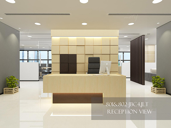 Dubai office 802 project