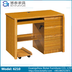 Computer Desk Solid Wood Edge  6210