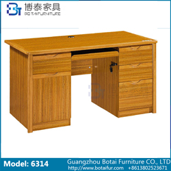 Computer Desk Solid Wood Edge  6314 6314B