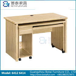 Computer Desk Solid Wood Edge  6412 6414