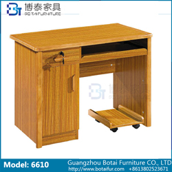 Computer Desk Solid Wood Edge  6610 6610B 6610C